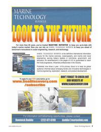 Marine Technology Magazine, page 3,  Apr 2006