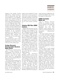 Marine Technology Magazine, page 51,  Apr 2006 California