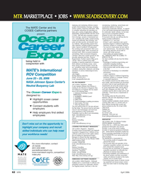 Marine Technology Magazine, page 62,  Apr 2006