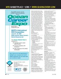 Marine Technology Magazine, page 62,  Apr 2006 Ethernet