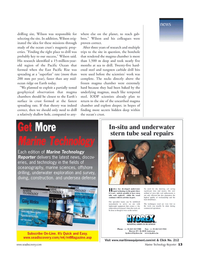 Marine Technology Magazine, page 13,  May 2006 steel