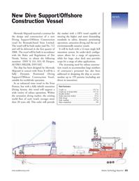Marine Technology Magazine, page 15,  May 2006 Toisa Limited.