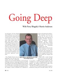 Marine Technology Magazine, page 18,  May 2006 Fred Slingsby