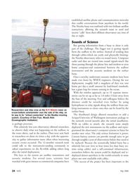 Marine Technology Magazine, page 24,  May 2006 University of Washington