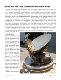 Marine Technology Magazine, page 27,  May 2006 established private networks