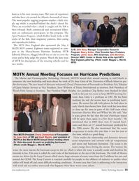 Marine Technology Magazine, page 33,  May 2006 Gulf of Mexico