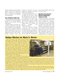 Marine Technology Magazine, page 37,  May 2006 fiber optic