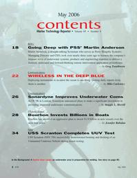 Marine Technology Magazine, page 2,  May 2006 Jennifer Rabulan