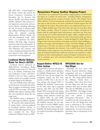 Marine Technology Magazine, page 39,  May 2006 New York