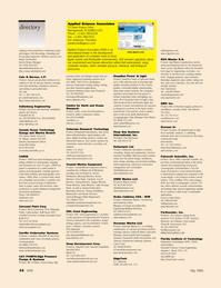 Marine Technology Magazine, page 44,  May 2006 Broadband