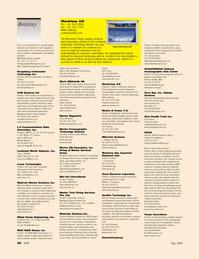 Marine Technology Magazine, page 46,  May 2006 3135 pb@marinemagnetics.com Marine Oceanographic Technology