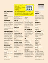 Marine Technology Magazine, page 47,  May 2006 brushless DC motor technology
