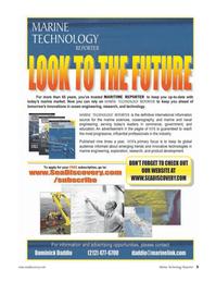 Marine Technology Magazine, page 3,  May 2006