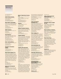 Marine Technology Magazine, page 48,  May 2006 Washington