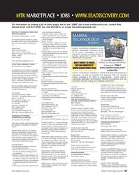 Marine Technology Magazine, page 61,  May 2006 Massachusetts