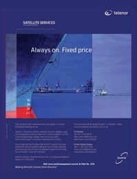 Marine Technology Magazine, page 3rd Cover,  May 2006