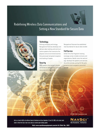 Marine Technology Magazine, page 4th Cover,  May 2006 cations systems