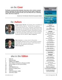 Marine Technology Magazine, page 5,  May 2006 Rob Howard