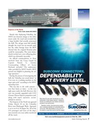 Marine Technology Magazine, page 7,  May 2006 Columbia River