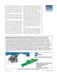 Marine Technology Magazine, page 9,  Jun 2006 Keene State College