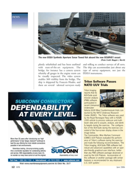 Marine Technology Magazine, page 12,  Jun 2006