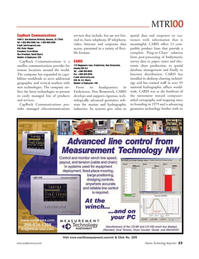 Marine Technology Magazine, page 23,  Jun 2006 IP telephony