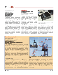 Marine Technology Magazine, page 26,  Jun 2006
