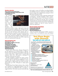 Marine Technology Magazine, page 27,  Jun 2006