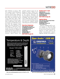Marine Technology Magazine, page 29,  Jun 2006 Brad Fisher