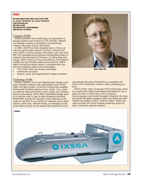 Marine Technology Magazine, page 39,  Jun 2006 key technologies