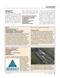 Marine Technology Magazine, page 45,  Jun 2006