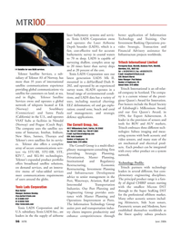 Marine Technology Magazine, page 56,  Jun 2006 VSAT