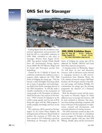 Marine Technology Magazine, page 16,  Jul 2006 Haakon