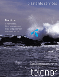 Marine Technology Magazine, page 2nd Cover,  Jul 2006