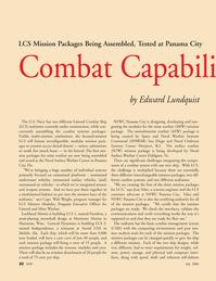 Marine Technology Magazine, page 20,  Jul 2006 Florida