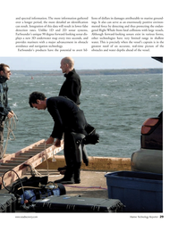 Marine Technology Magazine, page 29,  Jul 2006 2D sonar systems