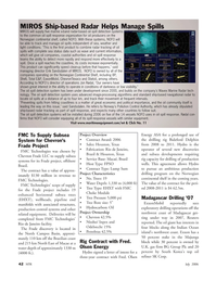Marine Technology Magazine, page 42,  Jul 2006