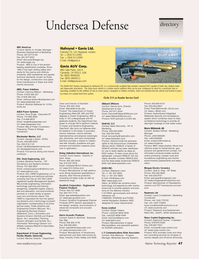 Marine Technology Magazine, page 47,  Jul 2006 California