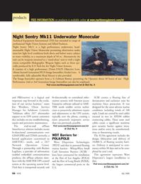 Marine Technology Magazine, page 56,  Jul 2006 GSM