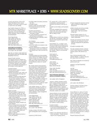 Marine Technology Magazine, page 62,  Jul 2006 ware systems