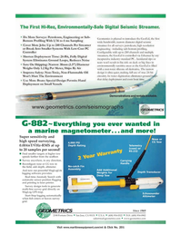 Marine Technology Magazine, page 3rd Cover,  Jul 2006