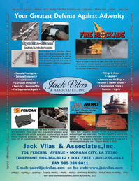 Marine Technology Magazine, page 4th Cover,  Jul 2006 Adversity Jack Vilas & AssociatesInc.