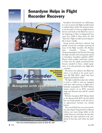 Marine Technology Magazine, page 6,  Jul 2006