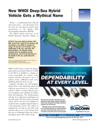 Marine Technology Magazine, page 7,  Jul 2006