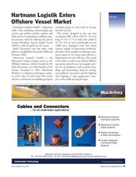 Marine Technology Magazine, page 9,  Nov 2006