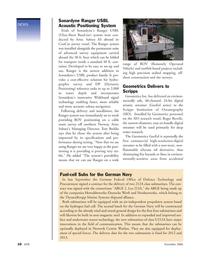 Marine Technology Magazine, page 10,  Nov 2006