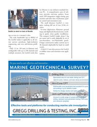 Marine Technology Magazine, page 11,  Nov 2006