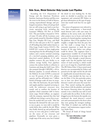 Marine Technology Magazine, page 14,  Nov 2006 David LeBlanc