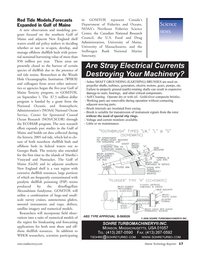 Marine Technology Magazine, page 17,  Nov 2006 Massachusetts