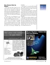 Marine Technology Magazine, page 19,  Nov 2006